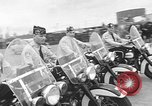 Image of Oakland Motorcycle Drill Team Oakland California USA, 1955, second 44 stock footage video 65675052569