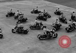 Image of Oakland Motorcycle Drill Team Oakland California USA, 1955, second 47 stock footage video 65675052569