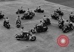 Image of Oakland Motorcycle Drill Team Oakland California USA, 1955, second 48 stock footage video 65675052569