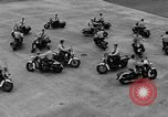 Image of Oakland Motorcycle Drill Team Oakland California USA, 1955, second 49 stock footage video 65675052569