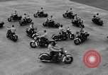 Image of Oakland Motorcycle Drill Team Oakland California USA, 1955, second 50 stock footage video 65675052569