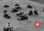 Image of Oakland Motorcycle Drill Team Oakland California USA, 1955, second 51 stock footage video 65675052569