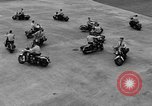 Image of Oakland Motorcycle Drill Team Oakland California USA, 1955, second 52 stock footage video 65675052569