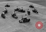 Image of Oakland Motorcycle Drill Team Oakland California USA, 1955, second 53 stock footage video 65675052569