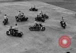 Image of Oakland Motorcycle Drill Team Oakland California USA, 1955, second 54 stock footage video 65675052569