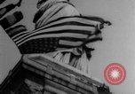 Image of Statue of Liberty New York City USA, 1918, second 31 stock footage video 65675052573