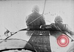 Image of C-class airship over Manhattan New York City USA, 1918, second 15 stock footage video 65675052578