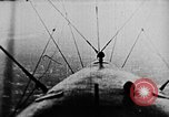 Image of C-class airship over Manhattan New York City USA, 1918, second 46 stock footage video 65675052578