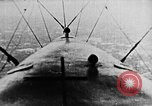 Image of C-class airship over Manhattan New York City USA, 1918, second 50 stock footage video 65675052578