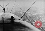 Image of C-class airship over Manhattan New York City USA, 1918, second 52 stock footage video 65675052578