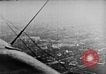 Image of C-class airship over Manhattan New York City USA, 1918, second 54 stock footage video 65675052578