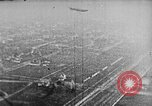 Image of C-class airship over Manhattan New York City USA, 1918, second 58 stock footage video 65675052578