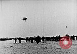 Image of Parachutist jumps from airship New York United States USA, 1918, second 9 stock footage video 65675052580