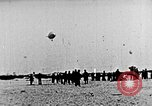 Image of Parachutist jumps from airship New York United States USA, 1918, second 10 stock footage video 65675052580