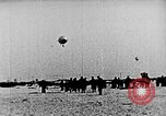 Image of Parachutist jumps from airship New York United States USA, 1918, second 15 stock footage video 65675052580