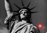 Image of Statue of Liberty New York United States USA, 1968, second 47 stock footage video 65675052588