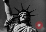 Image of Statue of Liberty New York United States USA, 1968, second 49 stock footage video 65675052588