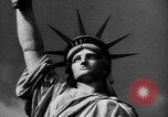 Image of Statue of Liberty New York United States USA, 1968, second 51 stock footage video 65675052588