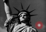 Image of Statue of Liberty New York United States USA, 1968, second 52 stock footage video 65675052588