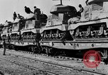 Image of British Eighth Army soldiers El Alamein Egypt, 1942, second 29 stock footage video 65675052594