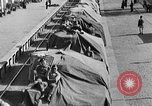 Image of British Eighth Army soldiers El Alamein Egypt, 1942, second 49 stock footage video 65675052594