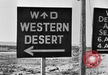 Image of British Eighth Army soldiers El Alamein Egypt, 1942, second 50 stock footage video 65675052594
