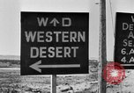 Image of British Eighth Army soldiers El Alamein Egypt, 1942, second 52 stock footage video 65675052594