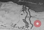 Image of map of Africa El Alamein Egypt, 1944, second 15 stock footage video 65675052596