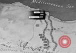 Image of map of Africa El Alamein Egypt, 1944, second 16 stock footage video 65675052596