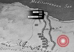 Image of map of Africa El Alamein Egypt, 1944, second 18 stock footage video 65675052596