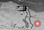 Image of map of Africa El Alamein Egypt, 1944, second 20 stock footage video 65675052596