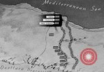 Image of map of Africa El Alamein Egypt, 1944, second 22 stock footage video 65675052596