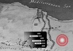 Image of map of Africa El Alamein Egypt, 1944, second 27 stock footage video 65675052596