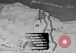 Image of map of Africa El Alamein Egypt, 1944, second 31 stock footage video 65675052596