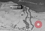 Image of map of Africa El Alamein Egypt, 1944, second 36 stock footage video 65675052596