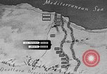 Image of map of Africa El Alamein Egypt, 1944, second 43 stock footage video 65675052596
