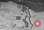 Image of map of Africa El Alamein Egypt, 1944, second 47 stock footage video 65675052596
