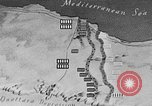 Image of map of Africa El Alamein Egypt, 1944, second 48 stock footage video 65675052596