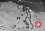 Image of map of Africa El Alamein Egypt, 1944, second 49 stock footage video 65675052596