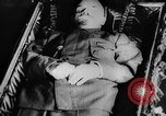Image of Lenin lying in state Moscow Russia Soviet Union, 1924, second 41 stock footage video 65675052606