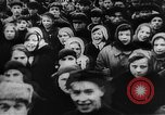 Image of massed crowd parading Moscow Russia Soviet Union, 1924, second 14 stock footage video 65675052607