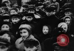 Image of massed crowd parading Moscow Russia Soviet Union, 1924, second 16 stock footage video 65675052607