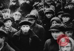 Image of massed crowd parading Moscow Russia Soviet Union, 1924, second 18 stock footage video 65675052607