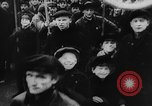 Image of massed crowd parading Moscow Russia Soviet Union, 1924, second 20 stock footage video 65675052607