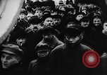 Image of massed crowd parading Moscow Russia Soviet Union, 1924, second 24 stock footage video 65675052607