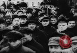 Image of massed crowd parading Moscow Russia Soviet Union, 1924, second 25 stock footage video 65675052607