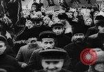 Image of massed crowd parading Moscow Russia Soviet Union, 1924, second 27 stock footage video 65675052607