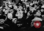 Image of massed crowd parading Moscow Russia Soviet Union, 1924, second 30 stock footage video 65675052607