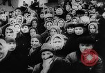 Image of massed crowd parading Moscow Russia Soviet Union, 1924, second 31 stock footage video 65675052607