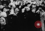 Image of massed crowd parading Moscow Russia Soviet Union, 1924, second 33 stock footage video 65675052607